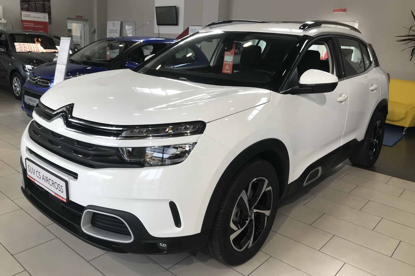 CITROЁN C5 Aircross LIVE